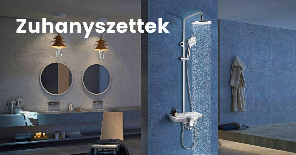 esőztető zuhanyszett akció