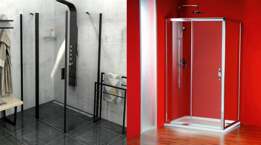 Nyílóajtós zuhanykabin