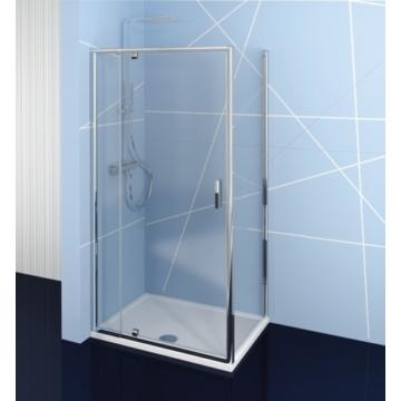 Polysan Easy Line nyílóajtó oldalfallal, 80-90 x 70 cm, transzparent üveg EL1615EL3115