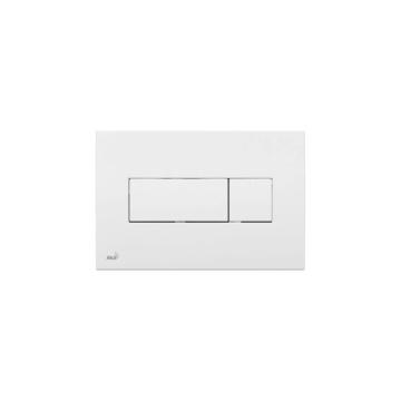 Alcaplast WC tartály nyomólap, fehér M370 - ALCAP-M370