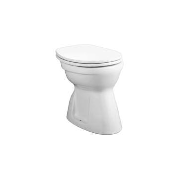 Alföldi Bázis WC-csésze alsó kifolyású, laposöblítésű, rövid (4037-00-01) - ALF-4037-0001