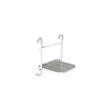 BK felhajtható zuhanyszék RM acél fehérre szinterezett - BK-THSDA