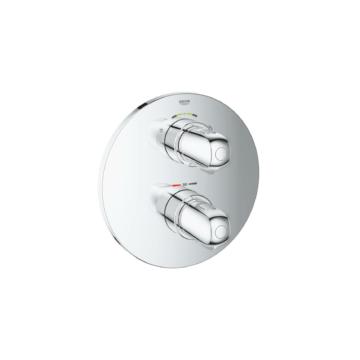 Grohe Grohtherm 1000 termosztatikus falsík alatti kád csaptelep (19985000) - GROHE-19985000