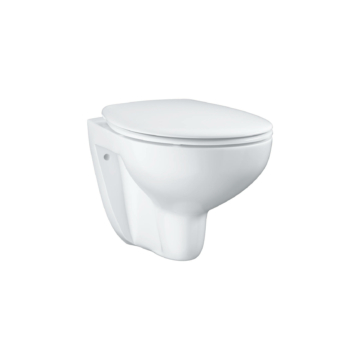 Grohe Bau Ceramic fali, mélyöblítésű, lecsapódásmentes WC ülőkével (39351000) - GROHE-39351000