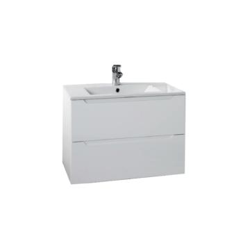 Hartyán bútor Elit mosdós szekrény, 60cm, fehér, 2 fiókkal - HARTYAN-E-M60-FEH
