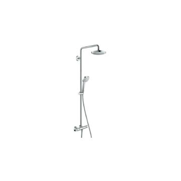 Hansgrohe Croma Select E 180 Showerpipe fehér/króm (27256400) - HG-27256400