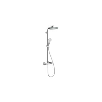 Hansgrohe Crometta S 240 1jet Showerpipe termosztátos csapteleppel DN15 króm (27267000) - HG-27267000
