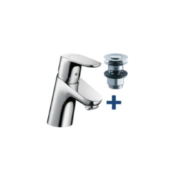 Hansgrohe Focus mosdó csaptelep 70 Push-Open (31604000) - HG-31604000