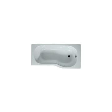 Jika Tigo akril kád, beépíthető, aszimmetrikus, jobbos 160x80/70 cm - JIKA-H2202100000001