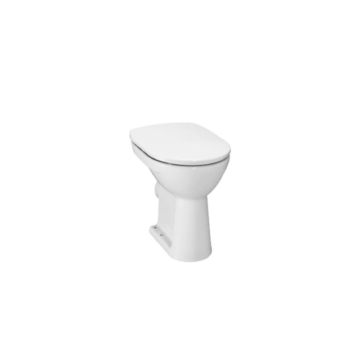 Jika Lyra Plus WC-csésze mozgáskorlátozottak részére, álló, laposöblítésű, hátsó kifolyású, fehér - JIKA-H8253860000001