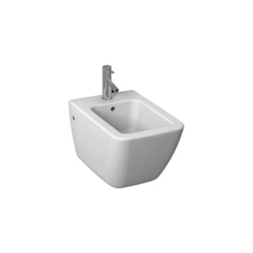 Jika Cubito Pure fali bidé, hátsó vízbekötés, Easy fit szerelőkészlettel, 54 cm - JIKA-H8304210003021