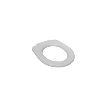 Jika Deep by Jika WC-ülőke, tető nélkül, duroplast, rozsdamentes zsanérral, fehér - JIKA-H8932823000631