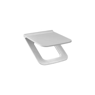 Jika Cubito Pure WC-ülőke Slim, duroplast, rozsdamentes zsanérral, gyorsrögzítésű - JIKA-H8934213000631