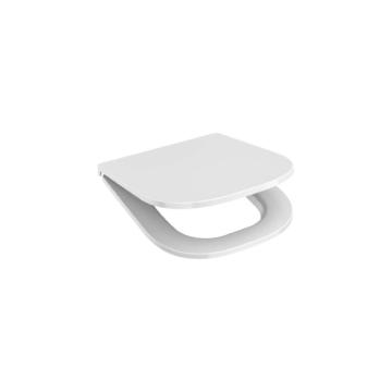 Jika Deep by Jika WC-ülőke, Slim, duroplast, lecsapódásgátló, rozsdamentes zsanér, gyorsrögzítésű - JIKA-H8936113000631