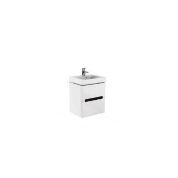 Kolo Modo mosdószekrény magasfényű fehér 49x40x55cm fali - KOLO-89424000