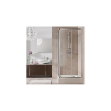Kolo First zuhanykabin 90cm szögletes áttetsző üveg + tálca - KOLO-ZKDK90222003Z1