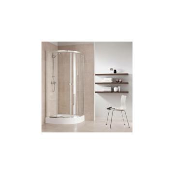 Kolo First zuhanykabin 90cm íves áttetsző üveg + tálca - KOLO-ZKPG90222003Z1
