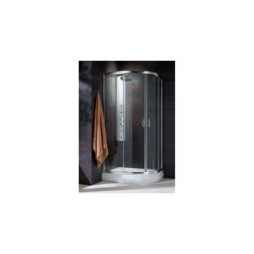 Radaway Premium Plus E 1900 zuhanykabin 90x80 íves, átlátszó üveggel 30492-01-01N - 30492-01-01N