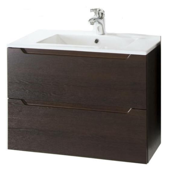 Hartyán bútor Elit mosdós szekrény, 60 cm, dió, 2 fiókkal