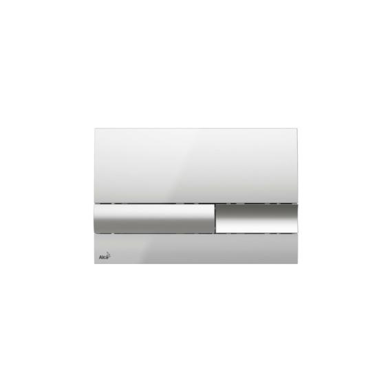 Alcaplast WC tartály nyomólap M1741 fényes króm - ALCAP-M1741