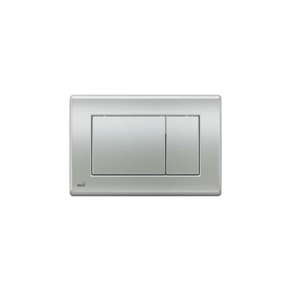 Alcaplast WC tartály nyomólap M272, Matt króm - ALCAP-M272