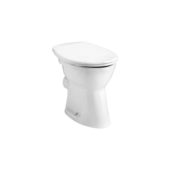 Alföldi Bázis WC csésze hátsó kifolyású, laposöblítésű 4030 00 01 - ALF-4030-0001