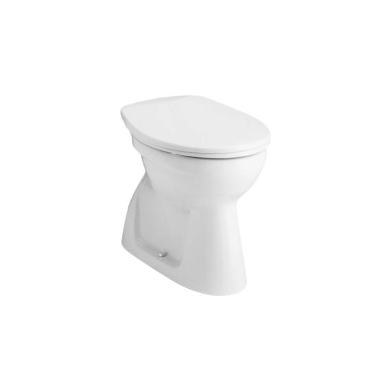 Alföldi Bázis WC csésze alsó kifolyású, mélyöblítésű, hosszú 4033 00 01 - ALF-4033-0001