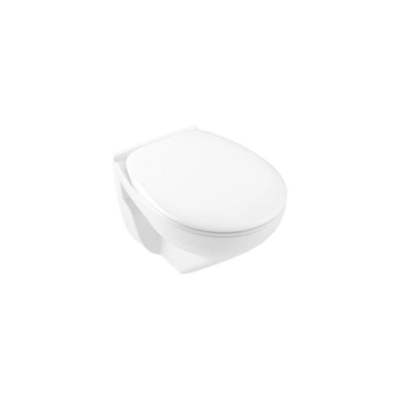 Alföldi Optic WC csésze fali, mélyöblítésű, Cleanflush, kompakt 7048-R001 - ALF-7048-R001