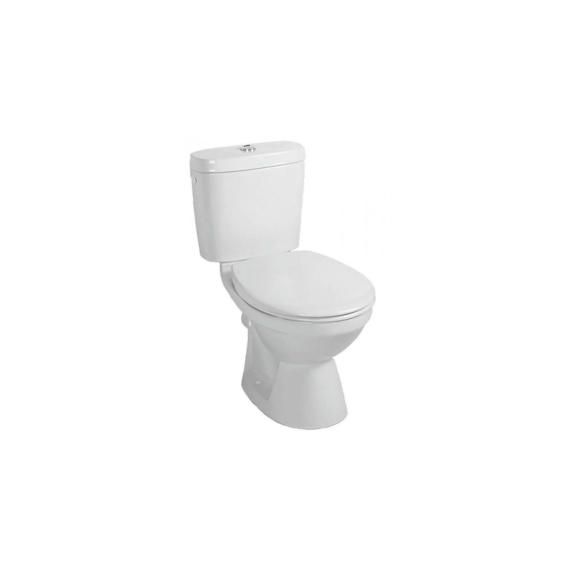 Alföldi Saval 2.0 monoblokk WC csésze hátsó kifolyású mély öblítésű,fehér - ALF-7090-19-01