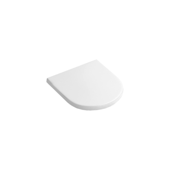 Alföldi Mollis duroplast wc-ülőke Softclose, Quick Release (8M38 S101) - ALF-8M38-S101
