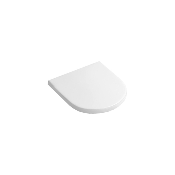 Alföldi Mollis duroplast wc-ülőke fém zsanérral (8M39-6101) - ALF-8M39-6101