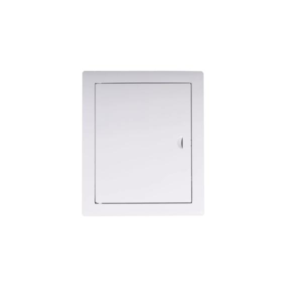 Awenta DM100 szervizajtó fehér fém 400x500 - AW-DM100