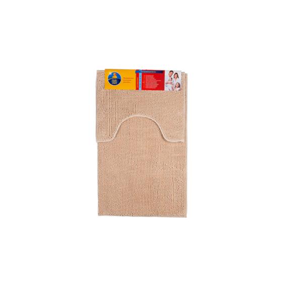 Bath Duck fürdőszobai szőnyeg szett, zsenília, bézs - BD-BM-SET-CH-4