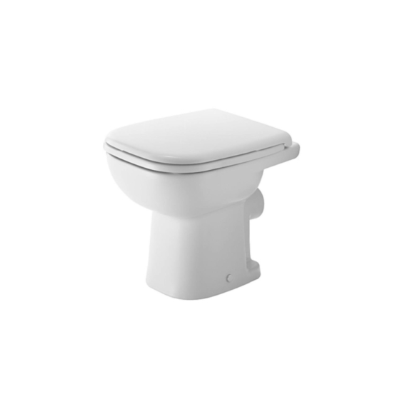 Duravit D-Code WC-csésze álló, hátsó kifolyású, mélyöblítésű - DUR-21080900002