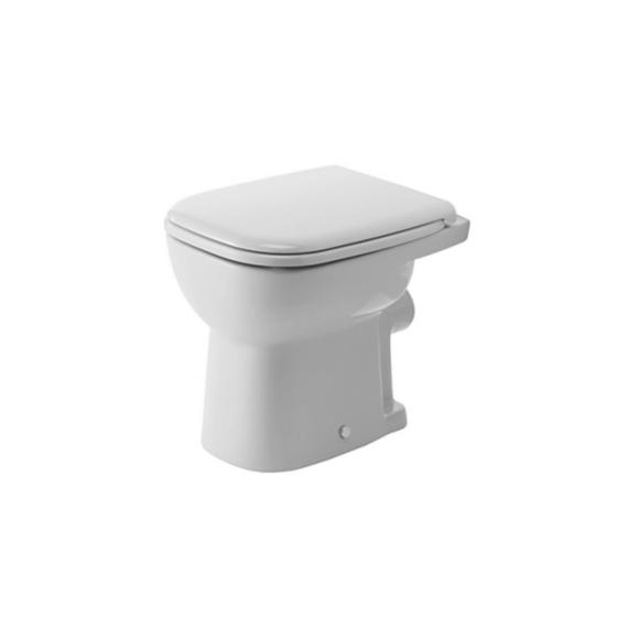 Duravit D-Code WC-csésze álló, laposöblítésű, hátsó kifolyású - DUR-21090900002