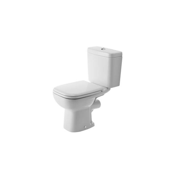 Duravit D-Code monoblokkos WC-csésze hátsó kifolyású, mélyöblítésű - DUR-211109000