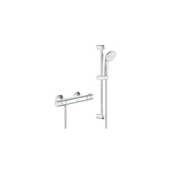 Grohe Grohtherm 800 termosztatikus zuhanycsaptelep szettel (34565001) - GROHE-34565001