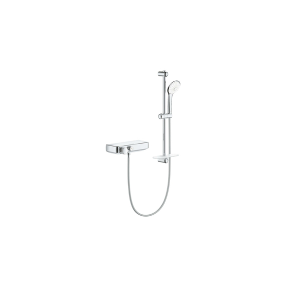 Grohe Grohtherm Smartcontrol termosztatikus zuhanycsaptelep zuhanyszettel (34720000) - GROHE-34720000