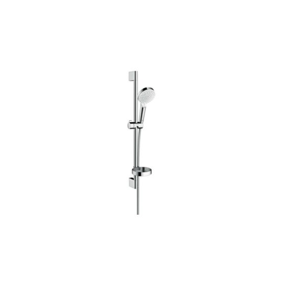 Hansgrohe Crometta Vario/Unica Croma zuhanyszett 0,65 m szappantartóval fehér/króm (26553400) - HG-26553400