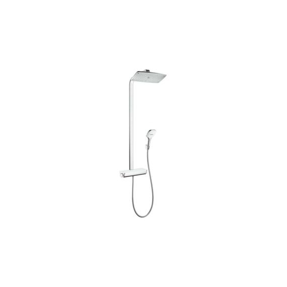 Hansgrohe Raindance Select E Showerpipe 360 1jet fehér/króm (27112400) - HG-27112400