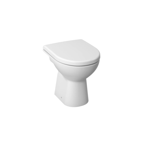 Jika Lyra Plus WC-csésze, álló, mélyöblítésű, hátsó kifolyású, fehér 47 cm - JIKA-H8213860000001