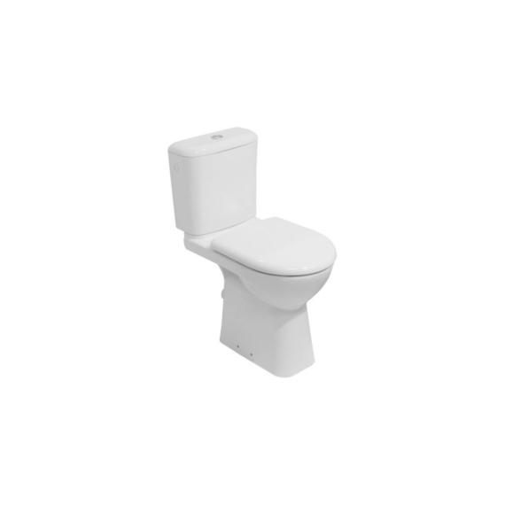 Jika Deep by Jika monoblokkos WC-csésze mozgáskorlátozottak részére, mélyöblítésű, hátsó kifolyású, 48 cm magas - JIKA-H8236160000001