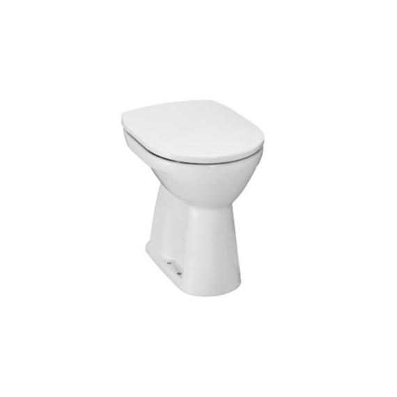 Jika Lyra Plus WC-csésze mozgáskorlátozottak részére, álló, laposöblítésű, alsó kifolyású, fehér - JIKA-H8253870000001