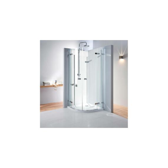 Kolo Next íves zuhanykabin 90cm átlátszó/króm/mf. ezüst - KOLO-HKPF90222003
