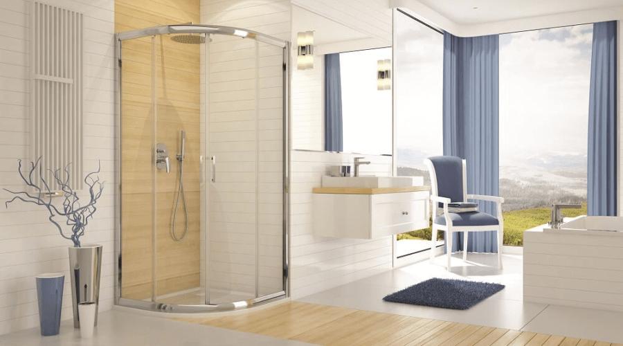 Tolóajtós zuhanykabin